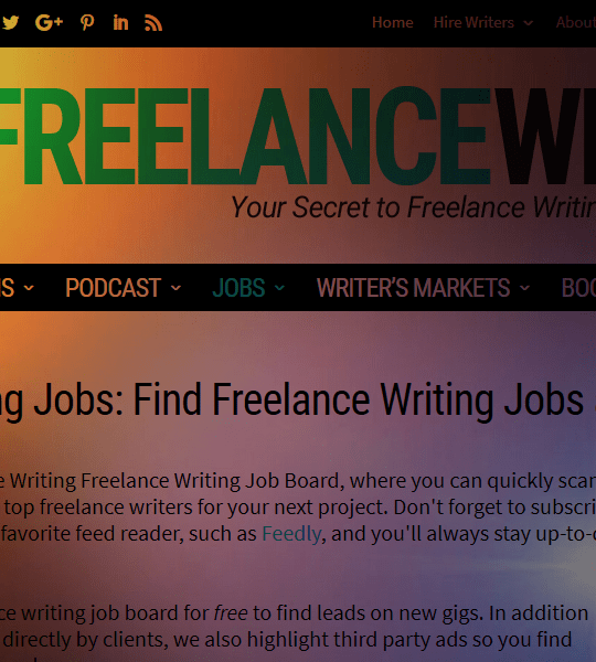All Freelance Writing Job Board Review