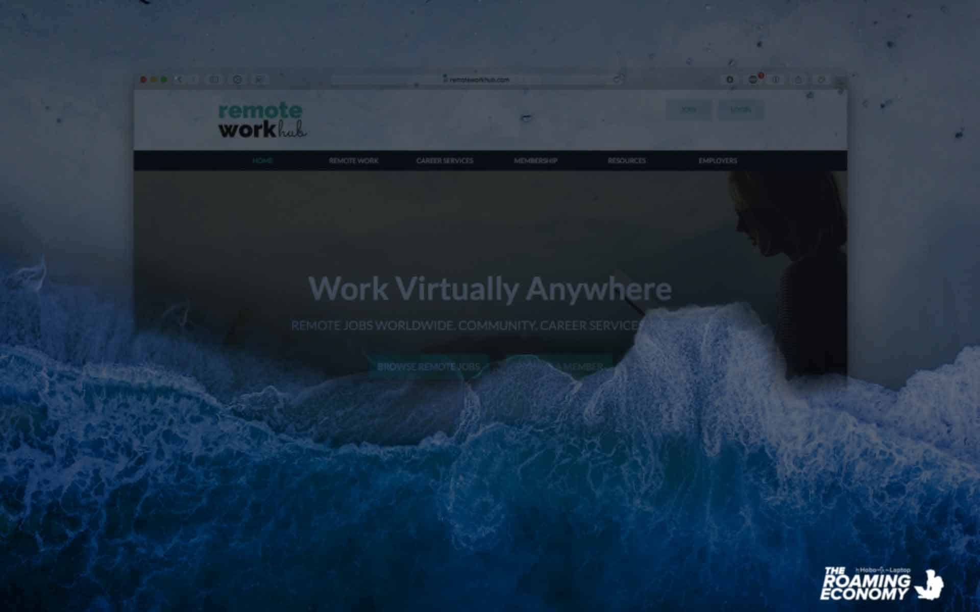 Remote Work Hub job site review